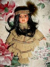 """9""""~Cathay Collection 5000~Little Small Indian Doll"""