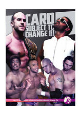 Official PWG Pro Wrestling Guerrilla - Subject To Change 3 Event DVD