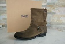 TOMMY HILFIGER Size 38 Ankle Boots shoes shoes dusty olive NEW