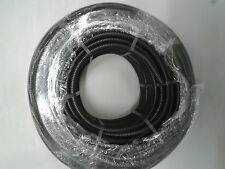 20mm FLEXIBLE BLACK CONDUIT Tube ,PVC Flex Pipe -20mm x 25m Coil Black