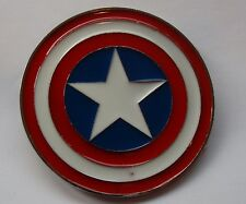 Captain America belt buckle fits standard belt