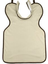 X-Ray Dental Apron Beige/Tan with Collar