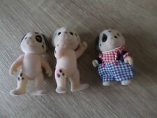 SYLVANIAN FAMILIES DOG FAMILY GIRLS BOYS FUN TOYS X3