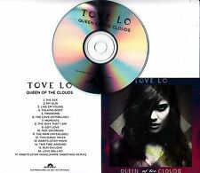 TOVE LO Queen Of The Clouds 2014 UK 17-track promo test CD
