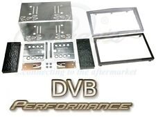 CT23VX03 Vauxhall Corsa (06 - 14) Double Din Facia Fitting Kit Silver