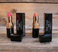 Bobbi Brown Lip Color Duo Salmon #1 AND Sandwich Pink #22 NEW TWO Lipstick