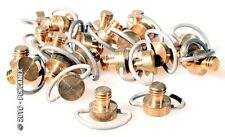 TRIPOD HEADS BRASS, 3/8TH MOUNTING SCREWS, SOLD INDIVIDUALLY