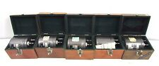 5pc BOONTON RADIO 518-A Q METER LABORATORY STANDARD INDUCTOR A1-A5 SET