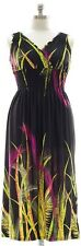 Surplice Maxi Dress Surplice Neckline Womens Plus Size 2X