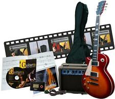 Pack aprende guitarra electrica tipo Les Paul de 9 productos