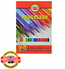 NEW Koh-i-noor Woodless Pencils 8758 PROGRESSO 24