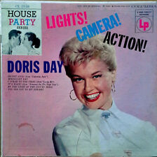 "DORIS DAY - LIGHTS ! CAMERA ! ACTION ! - COLUMBIA 2518 - 10"" LP - 6 EYED LOGO"