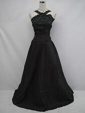 Cherlone Black Ballgown Prom Bridesmaid Formal Wedding/Evening Dress Size 14-16