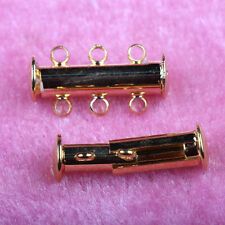 5/10 Sets Gold Silver Plated Magnetic Clasps Jewelry Making Finding Craft DIY