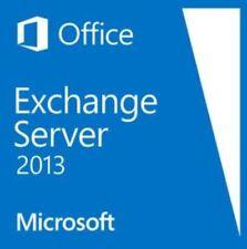 Exchange Server 2013 - Standard Edition 64 Bit. New, unopened, shrink wrapped.