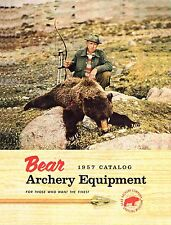 1957 Bear Archery Equipment Catalog  - Reproduction