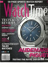 WATCH TIME, DECEMBER, 2012 ( THE MAGAZINE OF FINE WATCHES ) TESTS & REVIEWS