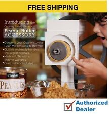 New Country Living Grain Mill Peanut Butter+Plus Accessory, Free Shipping