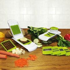 All-in-One Kitchen Chopper, Slicer, and Grater Gadget Set for fruits and veggies