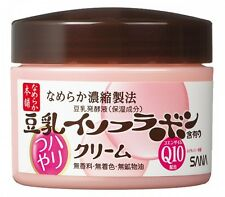 SANA Nameraka Honpo Soy Milk Isoflavone Coenzyme Q10 Cream N 50g from Japan