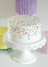 Confetti Fake Cake for Birthday Party Decorations, Centerpiece, Photo Props