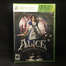 Alice: Madness Returns  (Xbox 360, 2011) BRAND NEW