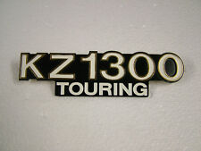 KAWASAKI . KZ1300, TOURING, A1 -A4, '79 - '82 NEW CAST REPRO SIDE COVER BADGE.