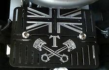 Regulator / Rectifier cover plate Triumph Bonneville Thruxton Scrambler Aluminiu