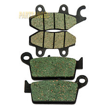 Front Rear Kevlar Carbon Brake Pads - 2004 HONDA Dream 50 R CBR NSR 50 R Mini 50