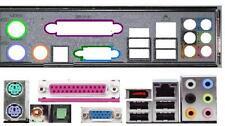 ATX Blende I/O shield GA-EP41-UD3L G33-DS3R io NEU #151 N650SLI-DS4 new bracket