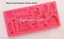 Music Musical Instruments Piano Silicone Mould Cake Topper Rock 18th  Sugarcraft