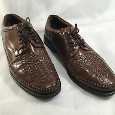 Clarks Man Shoes Lace-up Derby weaving style size 11 Brown