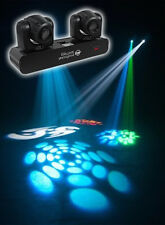 American DJ ADJ Inno Pocket Spot Twins Dual LED Moving Head Yoke Lights