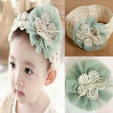 Toddler Lace Flower Bowknot Flower Headband Hair Accessories Baby Hairband