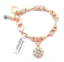"MARIANA  Gold ""Seaside Day"" Guardian Angel Pacific Opal Swarovski Bracelet 23439"