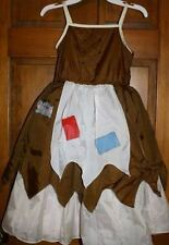 PRINCESS CINDERELLA Reversible GIRLS PEASANT DRESS 2/4 Halloween Costume DISNEY