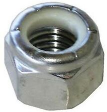 Stainless Steel 1/4-20 Nylon Insert Lock Nut 18/8 304 25 Pack
