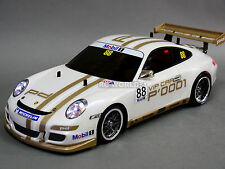 Custom Tamiya 1/10 RC Car PORSCHE 911 GT3 CUP VIP Turbo w/ LED -RTR-