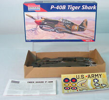 1/48  P-40B Tiger Shark  Jet Fighter~   Model~  Monogram ~ MIB* ~~