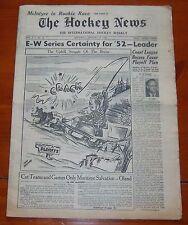The Hockey News January 19 1952  Lynn Patrick