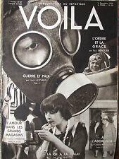 VOILA N°37 (5/12/1931) L'amour dans les grands magasins - La vie à la Maud