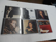 Lot of 6: Michael Bolton Albums - Timeless, Soul Provider - music CDs Tested!
