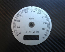 Harley Sportster Dyna Tachoscheibe Gauge Speedometer Silver Tacho Cluster Dial
