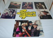 Vintage Rare Collectable Super Gran Promotional Prints/Pictures/Sign