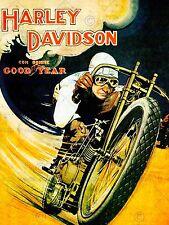Anuncio de la velocidad de Carreras de motos Nueva imagen de póster de impresión de arte CC2588