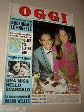 OGGI=1970/7=GIGI RIVA SPECIALE CAGLIARI CALCIO=ROMINA POWER=RIC E GIAN=PISU R.