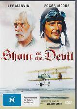 SHOUT AT THE DEVIL - LEE MARVIN & ROGER MOORE -  NEW & SEALED DVD