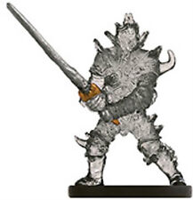 D&D MINIATURES SHADE KNIGHT 51/60 U DUNGEONS OF DREAD