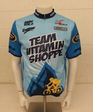 Verge Sport Team Vitamin Shoppe Cycling Bike Jersey Men's Size Large EXCELLENT