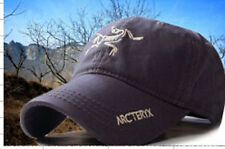 ARCTERYX® CAP BASEBALL HAT SLATE  NEW IN  PRE CURVED PEAK FULLY ADJUSTABLE